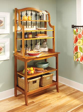 traditional bakers rack woodsmith plans