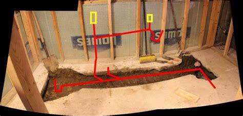 Rough In Bathroom Plumbing Best Bathroom Drain Plumbing