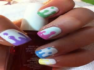 Cool easy nail designs for short nails images