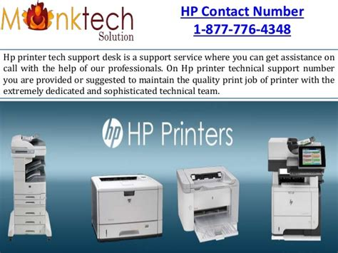 Hp Printer Help Desk by Solve The Problem For The Hp Printer Phone Number 1 877
