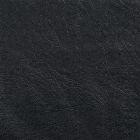 Faux Leather Buffalo Black  Discount Designer Fabric