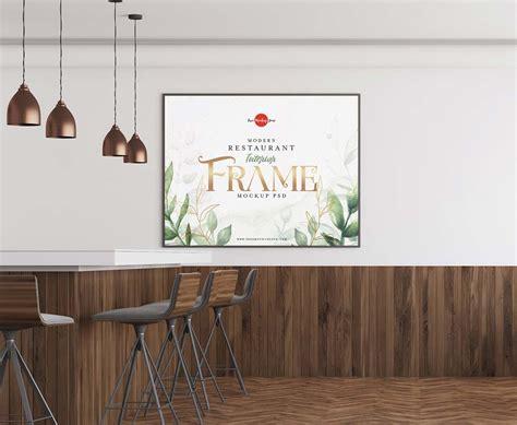 Restaurant menu mockup psd consists of smart objects. Restaurant Interior Frame Mockup - Mockup Jungle
