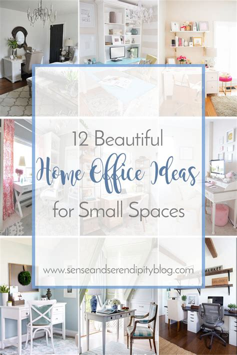 12 Beautiful Home Office Ideas For Small Spaces Sense