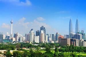 Kuala Lumpur Skyline editorial image. Image of modern ...