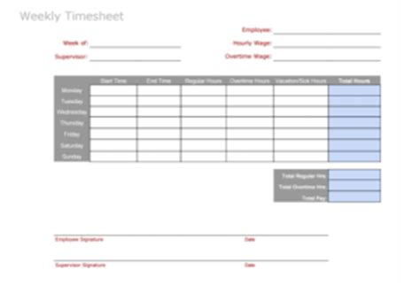 timesheet templates  pay employees  ease