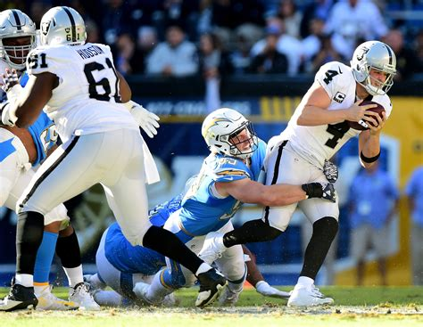 los angeles chargers  bold predictions  raiders
