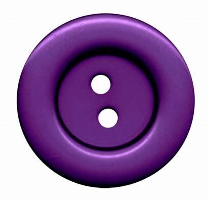 Button Purple Clothes Cloth Hole Buttons Transparent