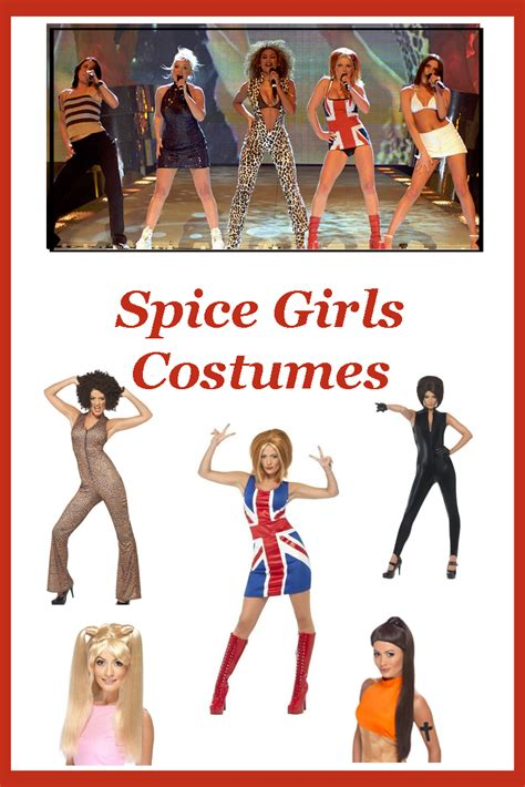 Stop - Spice Girls Costumes!