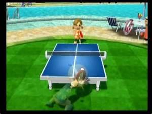 Wii Sports Resort- Table Tennis: Barolb Vs. Champion Lucia - YouTube  Table Tennis Sports