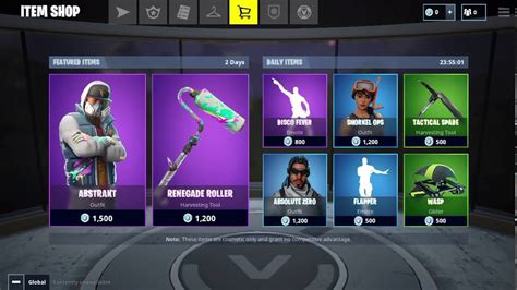fortnite item shop     featured items