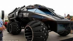 NASA's 'Mars batmobile' revealed | Daily Mail Online