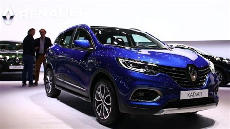 Facelifted Renault Kadjar Hints At