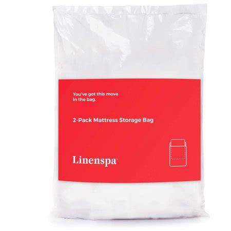 mattress bag walmart linenspa 2 pack mattress bags for moving storage and