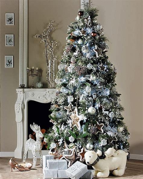 modern decorated christmas trees modern christmas tree decor home design
