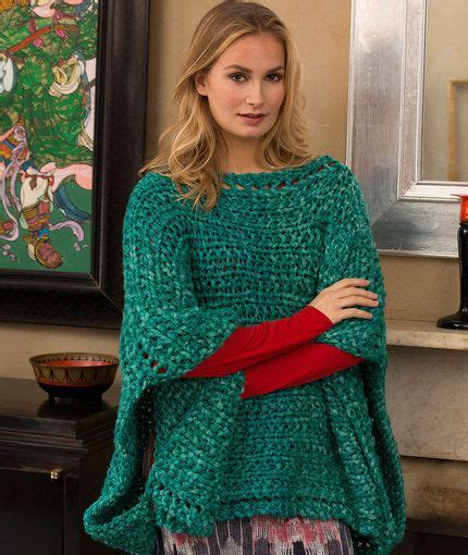 1000 about ponchos capes knit shawl pattern ideas stitches yarns and