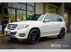 Mercedes GLK with 22in Savini BM11 Wheels exclusively from