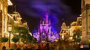 2014 03 Fine Art Disney Fireworks 18 – Main Street Castle ...