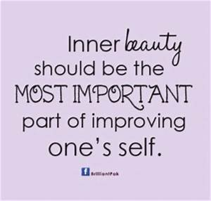 Inner Self Quot... Inner Beauty Confidence Quotes