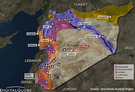syrian conflict  background   current situation