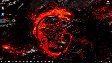 Wallpaper Engine Msi Dragon Logo Test Youtube