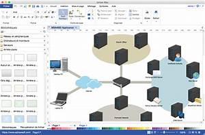 Equivalent De Diagramme De R U00e9seau De Microsoft Visio Pour Mac