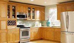 Country Oak Kitchen Cabinets