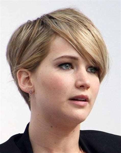 15 best collection of short haircuts for round chubby faces