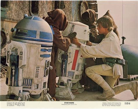 space age star wars lobby cards