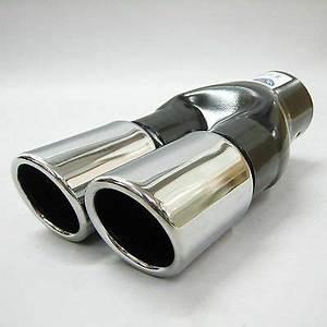 Embout Echappement Double : embout echappement y inox double sortie ovale 2x 83mm ~ Voncanada.com Idées de Décoration
