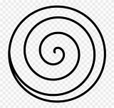 Coloring Spiral Popular sketch template