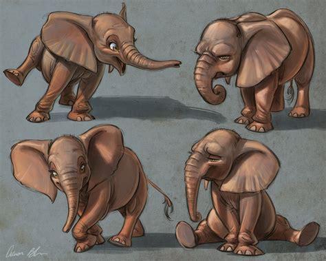 elephants  aaron blaise cool characters