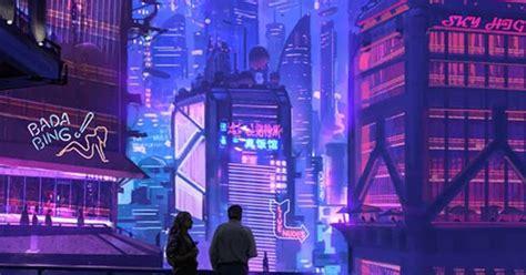 cyberpunk city  wallpaper engine  wallpaper