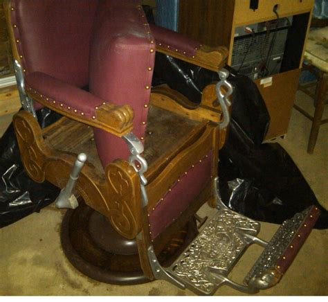 Koken Barber Chair Models by Koken Barber Chair 19xx Collectors Weekly