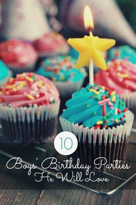 10 Boy's Birthday Parties He'll Love Spaceships and