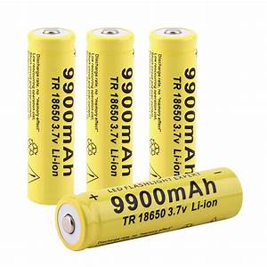 Best 18650 Capacity Rechargeable Battery For Led