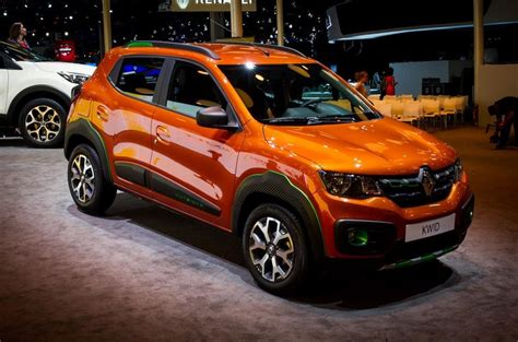 renault kwid renault kwid outsider concept grows some cladding for sao