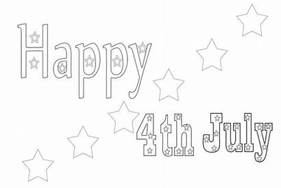 Coloring Pages Months Month July Printable