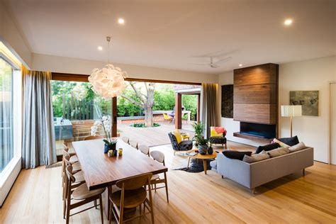 naroon road contemporary living room melbourne