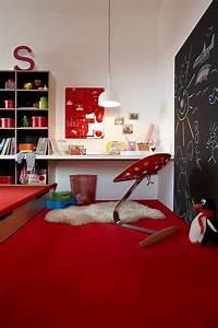 Chambre Enfant Moderne : chambre enfant rouge en 46 id es d co modernes ~ Teatrodelosmanantiales.com Idées de Décoration