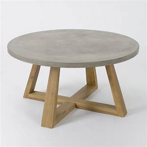 Table Basse Bois Ronde Table Basse Table Pliante Et