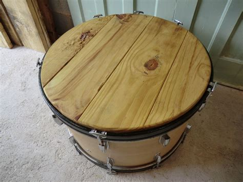 Unique Bass Drum Coffee Table For Sale At Pamono