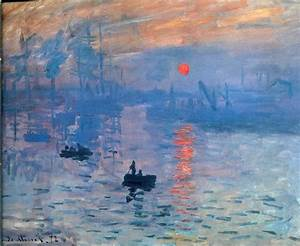 Impression Sunrise - Claude Monet Wallpaper Image