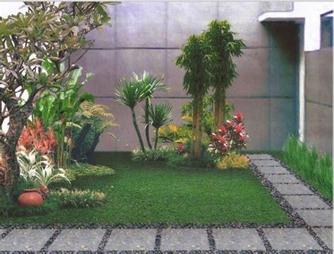 taman rumah minimalis terindah