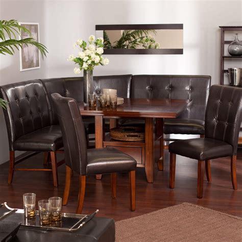 wow  space saving corner breakfast nook furniture sets