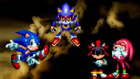 cooler sonic edgy shadow sonic mania mods
