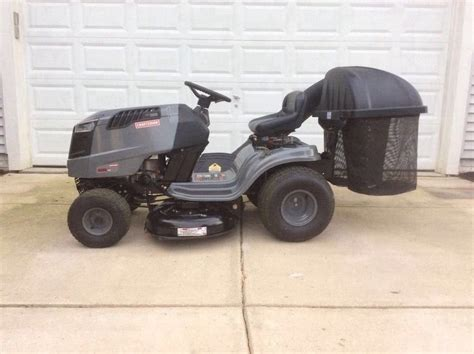 Used Mower Decks On Ebay by Craftsman Lawn Tractor 2 Bin Bagger Lightly Used
