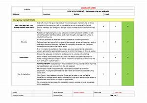 Kitchen And Bathroom Fitting Risk Assessment Example To