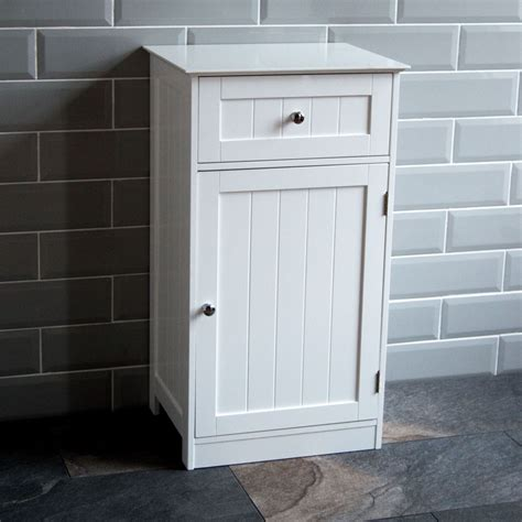 Bathroom Cupboard by Home Discount Bathroom Cupboard 1 Door 1 Drawer Floor