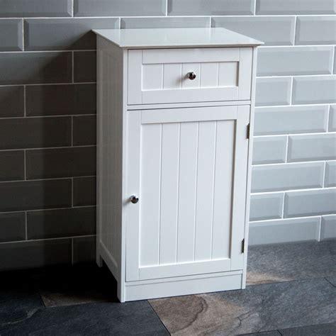 white wooden bathroom cabinets bathroom cabinet 1 door 1 drawer freestanding storage unit 21648