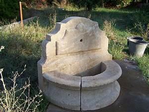 Fontaine D Exterieur En Pierre : am nagement fontaine en pierre naturelle fontaine ~ Premium-room.com Idées de Décoration